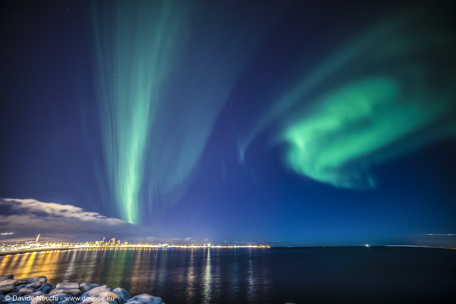 Aurora Boreale a Reykjavik
